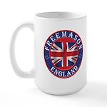 English Freemason Large Mug