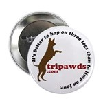 """Tripawd 2.25"""" Button (10 pack)"""