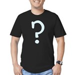 Question Everything Men's Fitted T-Shirt (dark)