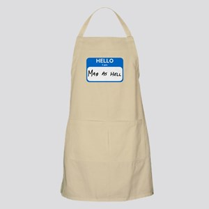 Mad As Hell Apron