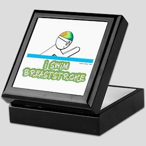 I Swim Breaststroke Keepsake Box