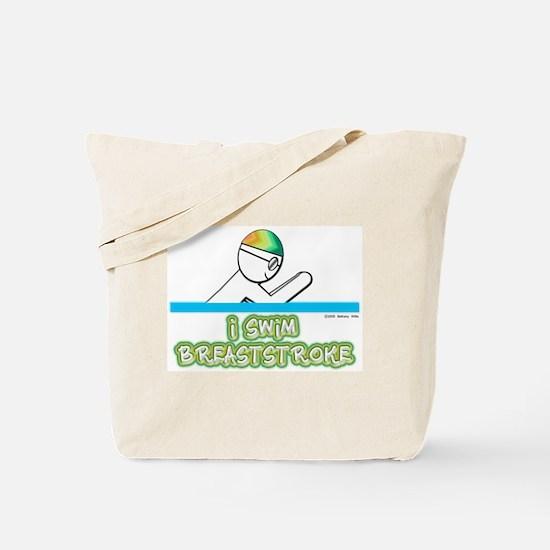 I Swim Breaststroke Tote Bag