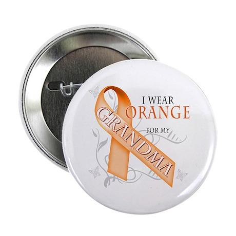 "I Wear Orange for my Grandma 2.25"" Button"