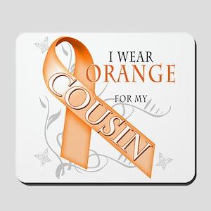 I Wear Orange for my Cousin Mousepad