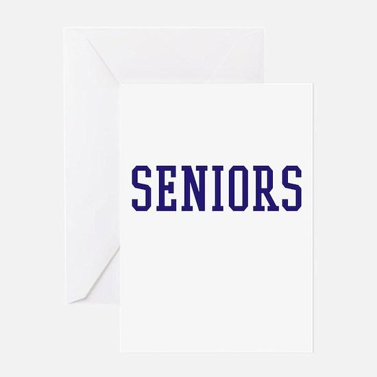 Seniors High School Greeting Card