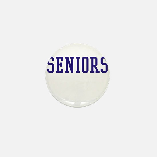 Seniors High School Mini Button
