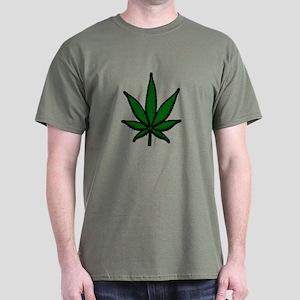 Pot Leaf Dark T-Shirt