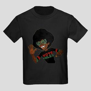 Vote Miles Kids Dark T-Shirt