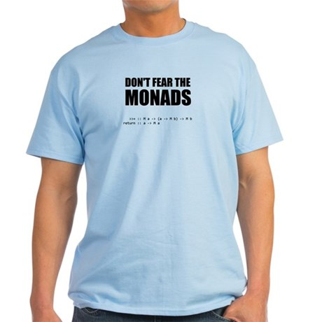 Don't Fear The Monads shirt