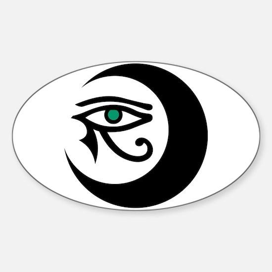 LunaSees Logo Sticker (Oval)