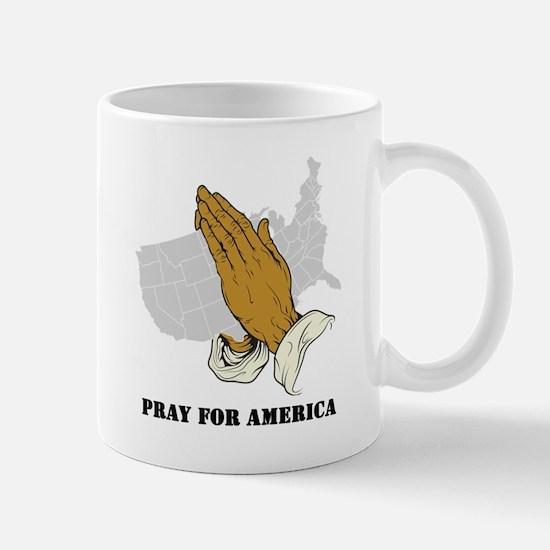 Pray For America Mug
