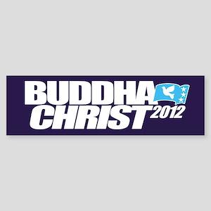 Vote Buddha Christ Mayan 2012 Peace Bumper Sticker