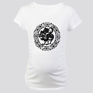 Rooster Maternity T-Shirt