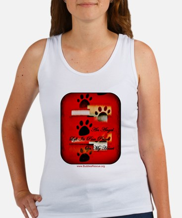 Angel Paw Prints Women's Tank Top