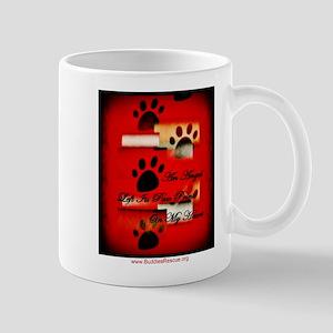 Angel Paw Prints Mug
