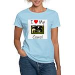 Love My Cows Women's Light T-Shirt