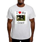 Love My Cows Light T-Shirt