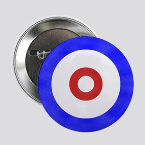 """Curling Circle Ice 2.25"""" Button"""