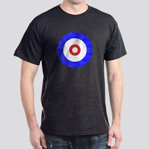 Curling Circle Ice Dark T-Shirt