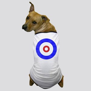 Curling Circle Ice Dog T-Shirt