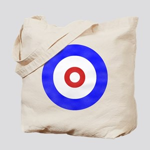 Curling Circle Ice Tote Bag
