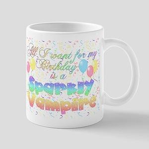 Twilight Birthday Sparkly Vam Mug