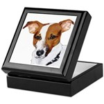 Jack Russell Portrait Keepsake Box