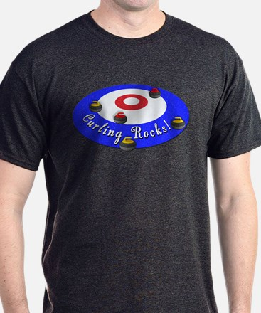 Curling Rocks! T-Shirt