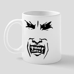Evil Vampire Face Mug