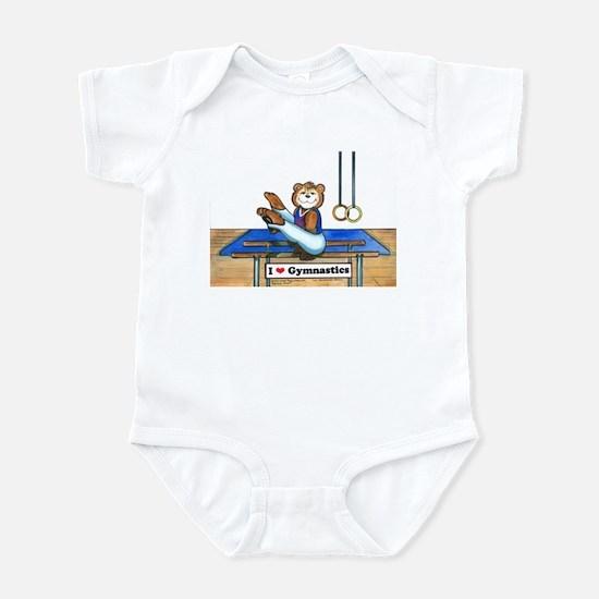 Male Gymnast Infant Creeper