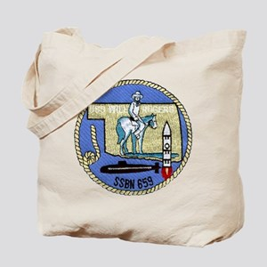 USS WILL ROGERS Tote Bag