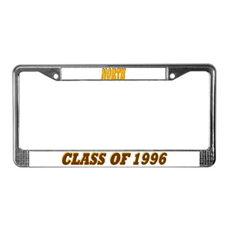 NKHS Class of 96 License Plate Frame