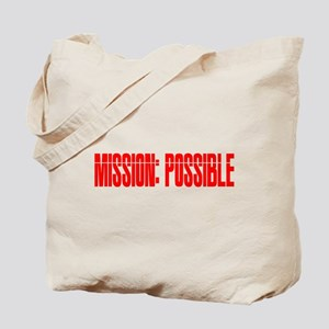 mission possible Tote Bag