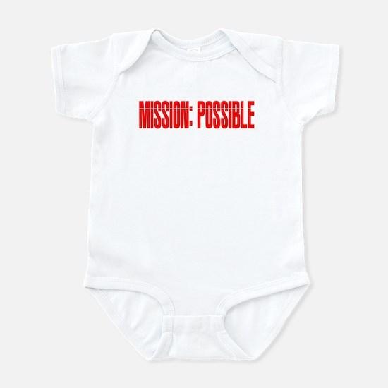 mission possible Infant Bodysuit