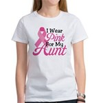 Pink For Aunt Women's T-Shirt