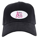Pink For Aunt Black Cap