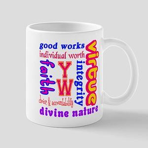 Young Women Values Mug