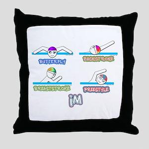 IM Throw Pillow