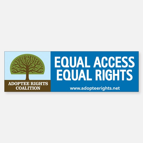 Adoptee Rights Coalition Sticker (Bumper)