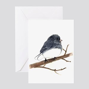 Dark-eyed Junco Greeting Card