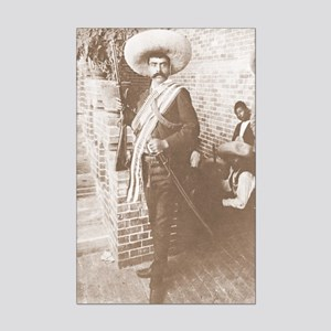 Zapata Full Figure Cropped Poster Print