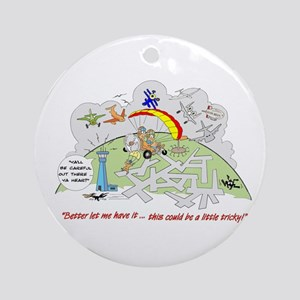 ...a little tricky Ornament (Round)