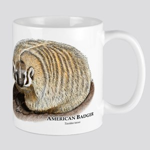 American Badger Mug