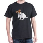 Jack Russell Painting Dark T-Shirt