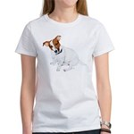 Jack Russell Painting Women's T-Shirt