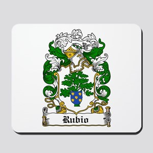 Rubio Coat of Arms Mousepad