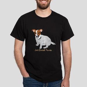 Jack Russell Terrier Painting Dark T-Shirt