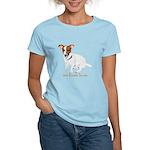 Jack Russell Terrier Painting Women's Light T-Shir