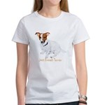 Jack Russell Terrier Painting Women's T-Shirt