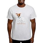 Jack Russell Terrier Painting Light T-Shirt